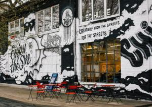 Air-Ink – bläck gjort på luftföroreningar – smyckar gatorna världen över i form av graffitikonst.